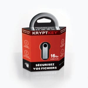 KryptKey, the secure USB drive from MDK Solutions